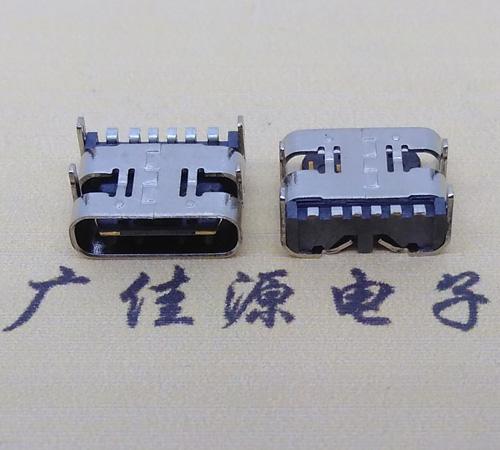 卧式type-c6p母座
